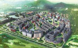 珠海北師大京師小鎮規劃